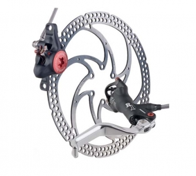 2011 FORMULA R1 ​​+ Black Rear Brake Disc 160 mm PM / IS