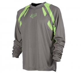 FOX PROMO 2011 Maillot ML ATTACK Gris Taille L