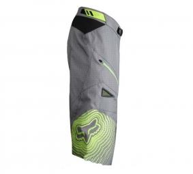 FOX PROMO 2011 Short DEMO Gris/Vert Taille 34
