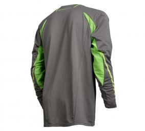 FOX 2011 Maillot Manches Longues TECH MTB Gris Taille M