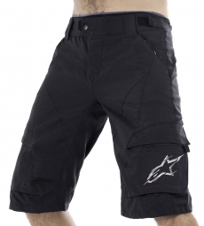 ALPINESTARS Short MANUAL Black Cool Gray Taille 34