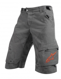 ALPINESTARS Short MANUAL Cool Gray Red Taille 32
