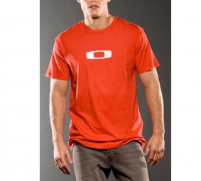 OAKLEY 2011 T-Shirt SQUARE O 2.11 TEE Rouge Taille M