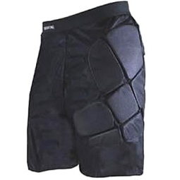 661 Sous short BOMBER protection Noir Medium