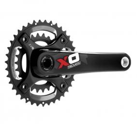 sram pedalier x0 bb30 2 2 rouge 28 42 175 mm 10v sans boitier