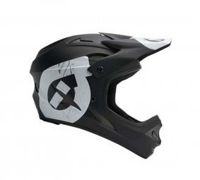 661 SIXSIXONE Comp II Full Face Helmet 2011 Black / White XS