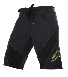 ALPINESTARS Short HYPERLIGHT Black Lime Green Taille 30