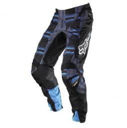 FOX Promo Pantalon 180 PLAID bleu Taille 30 US (38 FR)