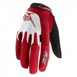 FOX PROMO 2011 Gants REFLEX Rouge longs Taille XL