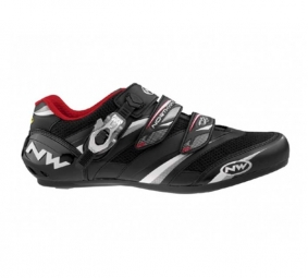 Northwave Chaussures VERTIGO PRO SBS 2011 Black/White/Red Taille 44