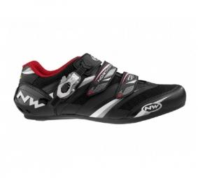 Northwave Chaussures VERTIGO PRO SBS 2011 Black/White/Red Taille 44