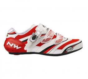 Northwave Chaussures VERTIGO PRO SBS 2011 Rouge/Blanche Taille 42