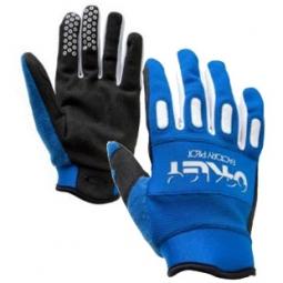 OAKLEY Gants FACTORY Glove Bleu/Blanc Taille S