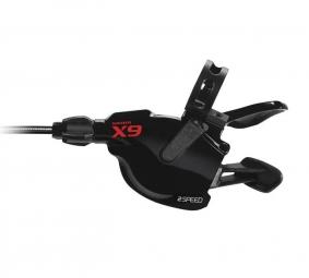 SRAM Commandes de vitesses Triggers X9 3 x 10 Vitesses ROUGE (la Paire)