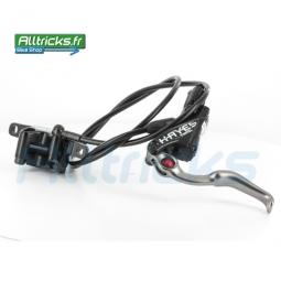 HAYES STROKER TRAIL 2011 Rear Brake Disc Black 180mm IS