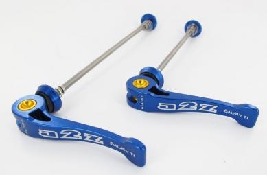 Image of A2z serrages rapides axe titane bleu