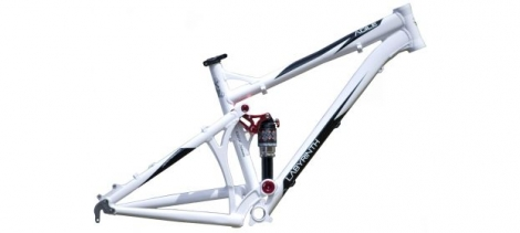 LABYRINTH Framework AGILE 26'' Size M White / Red Tie Rod