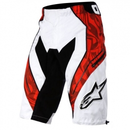 ALPINESTARS Short GRAVITY Black White Red Taille 32