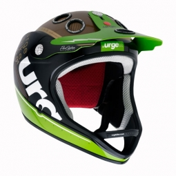 URGE 2011 Archi-Enduro Helmet Black / Green / Bronze S / M