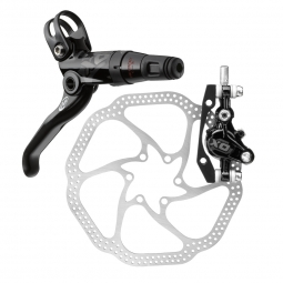 2012 Avid Elixir X0 Black CARBON Front Brake Disc 180mm HS1 PM / IS