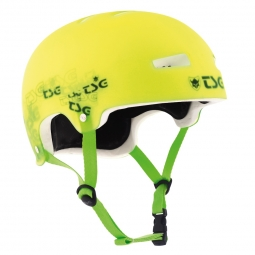 TSG Casque Bol EVO SPECIAL MAKEUP Clear Green Taille S/M