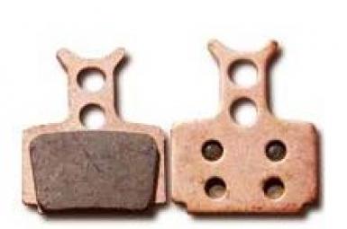 EBC VERT Paire de Plaquettes FORMULA C1/R1/RX/ONE Organique Medium