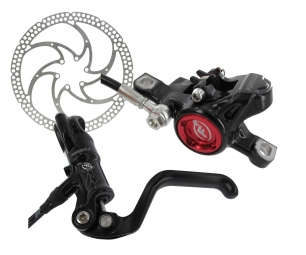 2012 FORMULA RX Rear Brake Disc Black 160mm IS