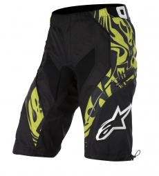 ALPINESTARS Short GRAVITY Black Lime Green Taille 32