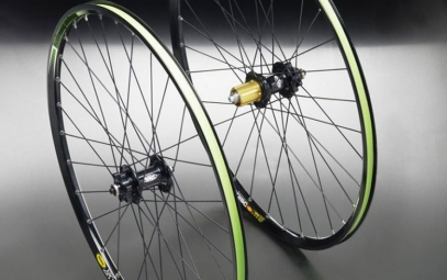 HOPE 2011 Wheelset Pro 2 EVO HOOPS / Mavic 717 Disc 6TR 9mm 26'' / 15 mm