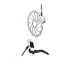 2011 Magura Louise Carbon Disc Brake Front White + 180 mm SL