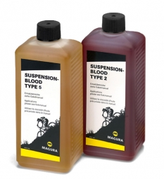 MAGURA Huile de Suspension BLOOD Type 2 format 0.5 Litre