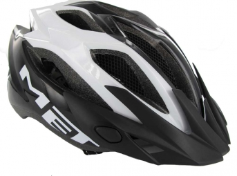 MET CROSSOVER 2012 Helmet Black / White Panel Size XL