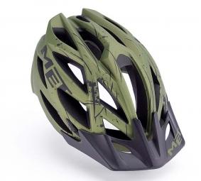 KAOS MET Helmet Green L