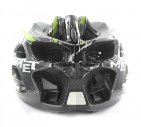 MET Veleno SIM Helmet Black Green L