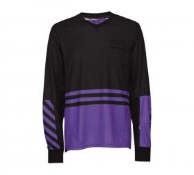 OAKLEY 2011 JERSEY SMOKE Noir/Violet Taille S