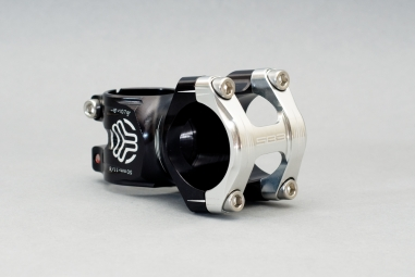 SB3 Stem flowy Alu Black / Polished 50 mm 6 °