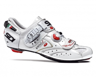 SIDI Chaussures Route ERGO 2 Blanc Verni Taille 44