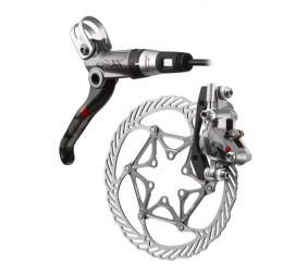 Avid XX Front Brake Disc + Grey CleansSweep 160 mm PM / IS