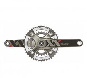 Truvativ pedalier xx 42 28 dts 175 mm q factor 166mm 10v avec boitier gxp