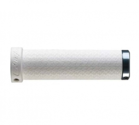 Sunline LOGO Pair Grips Lock-on 130 mm THICK White