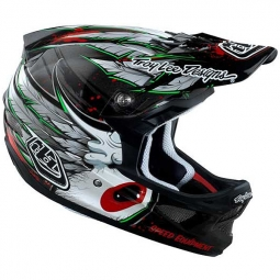 TROY LEE DESIGNS 2011 D3 Composite Full Face Helmet Black L SPEEDWING