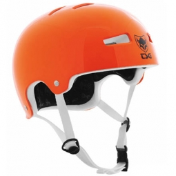 Helmet TSG Evolution Solid Gloss Orange Bowl S / M