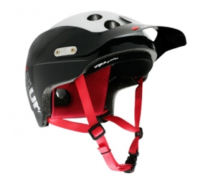 2011 Helmet URGE Endur-O-Matic Black / White / Red S / M