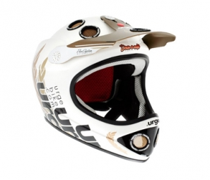 URGE 2011 Helmet Down-O-Matic C White Palace S / M