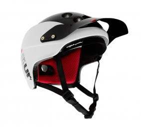 URGE 2011 Casque Endur-O-Matic blanc/noir S/M