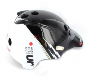 2011 Helmet URGE Endur-O-Matic Flash black / white S / M
