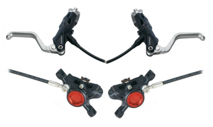 Brakes FORMULA RX 2011 Pair of Black diskless
