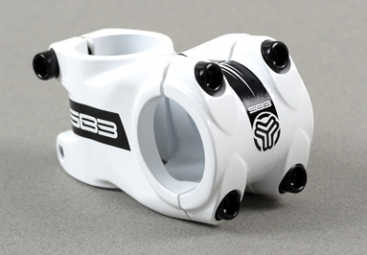 SB3 FIFTY Alu Stem White 10 ° 50 mm