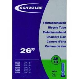 Schwalbe Chambre à air AV13 26x1.5/2.5 Schrader