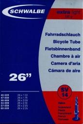 Schwalbe SV14 X-Light Presta 26x1.5/2.35